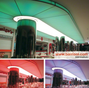 Lucrari de referinta Proiecte realizate cu Barrisol Lumiere Color BARRISOL - Poza 8