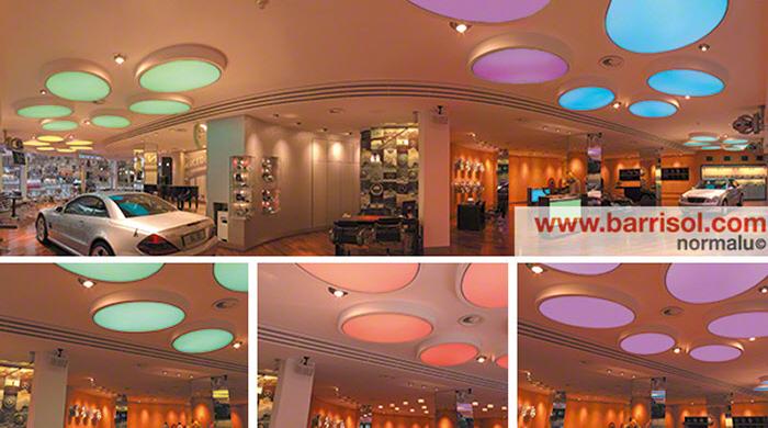 Proiecte realizate cu Barrisol Lumiere Color BARRISOL - Poza 9