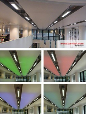 Lucrari de referinta Proiecte realizate cu Barrisol Lumiere Color BARRISOL - Poza 12