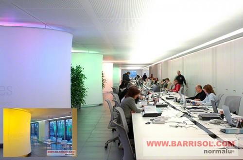 Lucrari de referinta Proiecte realizate cu Barrisol Wall BARRISOL - Poza 3