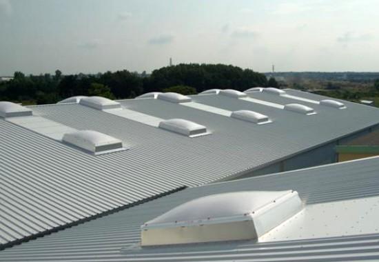 Cupolete pentru iluminare si ventilare acoperis JET GROUP