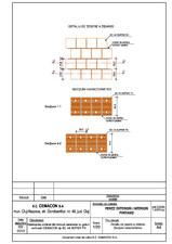 Detaliu de tesere a zidariei CEMACON