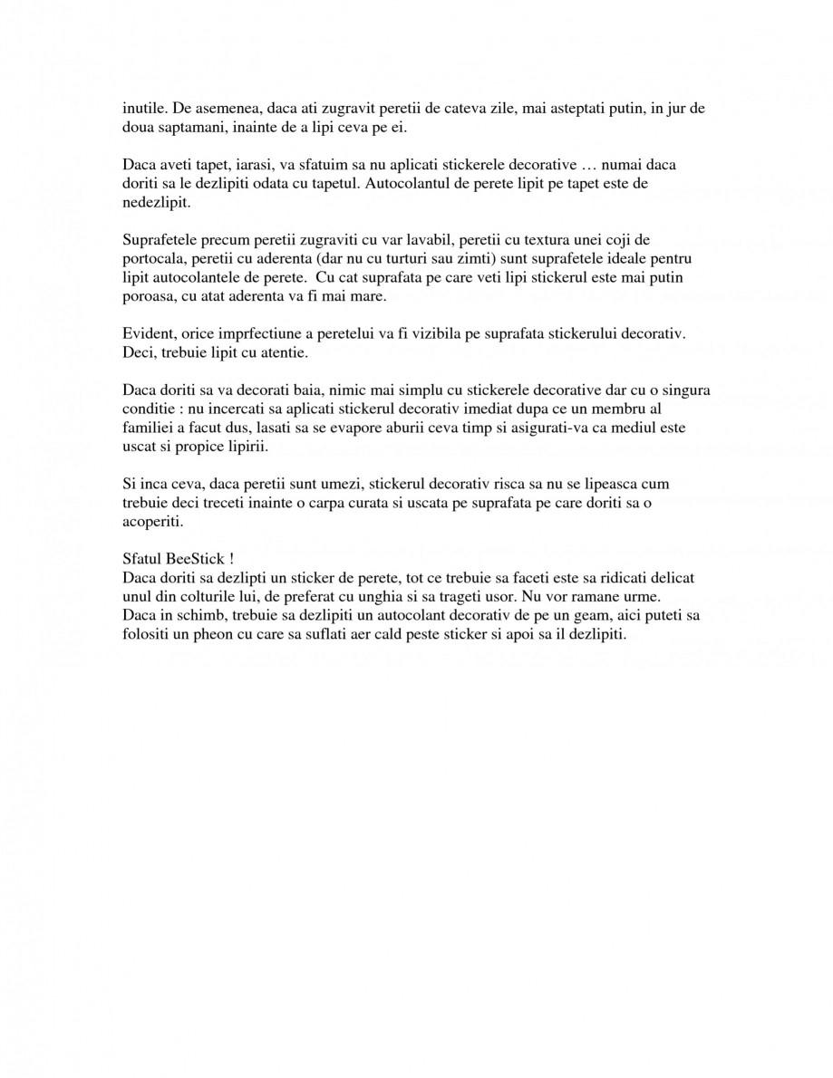 Pagina 3 - Cand si cum sa alegeti stickerele decorative Beestick Catalog, brosura Romana pe care o...