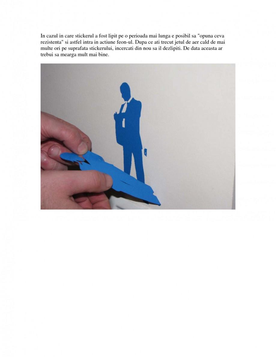 Pagina 2 - Cum se dezlipesc stickerele decorative Beestick Catalog, brosura Romana  pe suprafata...