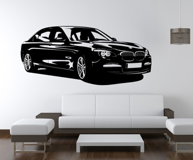 Stickere, folii decorative / BMW o pasiune