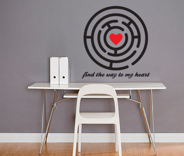Stickere, folii decorative / Find the way...