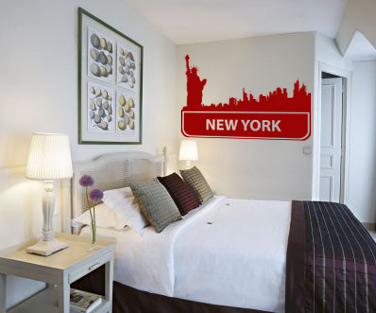 Stickere, folii decorative / New York....New York