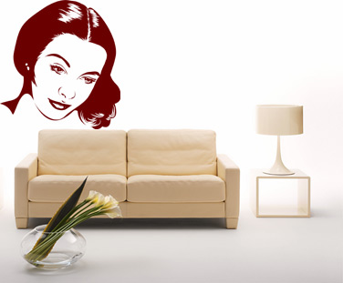 Stickere, folii decorative / Vivian Leigh