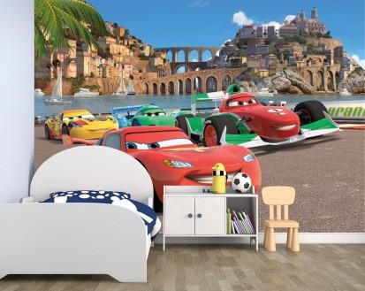 Fototapet camere de copii - Format Mare (360x254) / Fototapet Cars Race