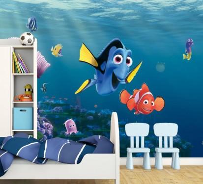 Fototapet camere de copii - Format Mare (360x254) / Fototapet Lumea lui Nemo