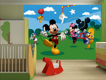 Fototapet camere de copii - Format Mare (360x254) / Fototapet Mickey Mouse