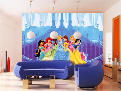 Fototapet camere de copii - Format Mare (360x254) / Fototapet Printese in Castel