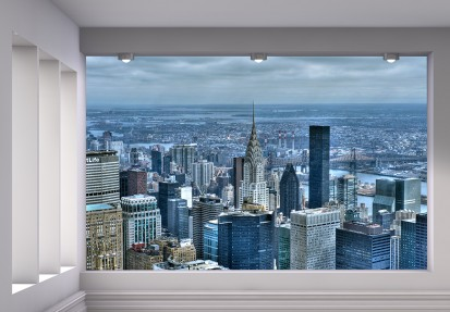Fototapet decorativ - dimensiuni mici (180x127 cm) / Fototapet Cladiri