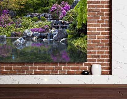 Fototapet decorativ - dimensiuni mici (180x127 cm) / Fototapet Lac