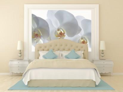 Fototapet decorativ - dimensiuni mici (180x127 cm) / Fototapet Orhidee salbatica
