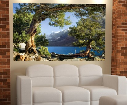 Fototapet decorativ - dimensiuni mici (180x127 cm) / Fototapet Rau