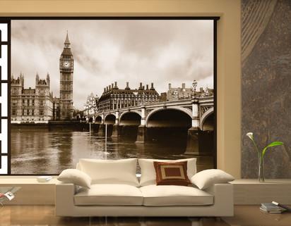 Fototapet decorativ Giant (360x254cm) / Fototapet Imagini Londoneze