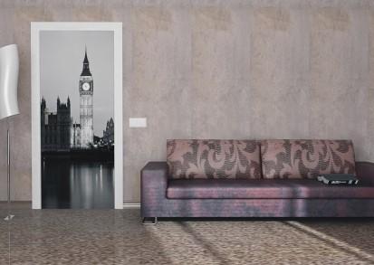 Fototapet pentru usi (90x202 cm) / Fototapet pentru usa London tower
