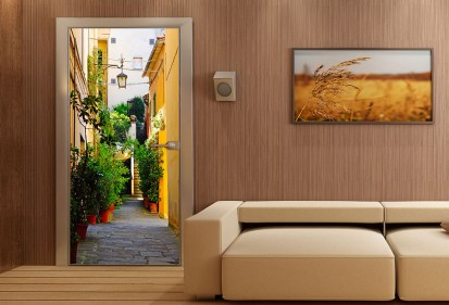 Fototapet pentru usi (90x202 cm) / Fototapet pentru usa Micul Nice