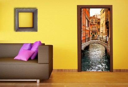 Fototapet pentru usi (90x202 cm) / Fototapet pentru usi Venetia