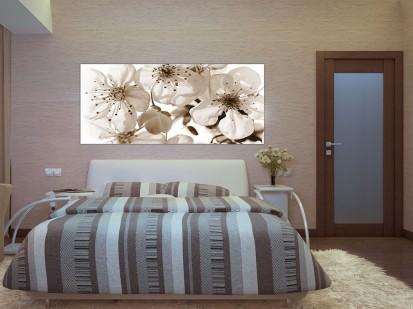 Fototapet decorativ Maxiposter Orizontal (202x90cm) / Fototapet Flori