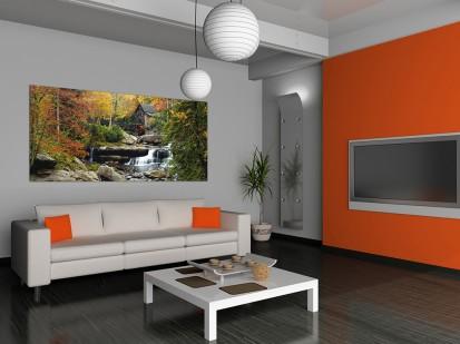 Fototapet decorativ Maxiposter Orizontal (202x90cm) / Fototapet Water Mill