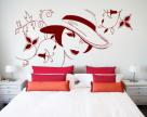 Stickere si folii decorative pentru decorarea peretilor sau vitrinelor Beestick