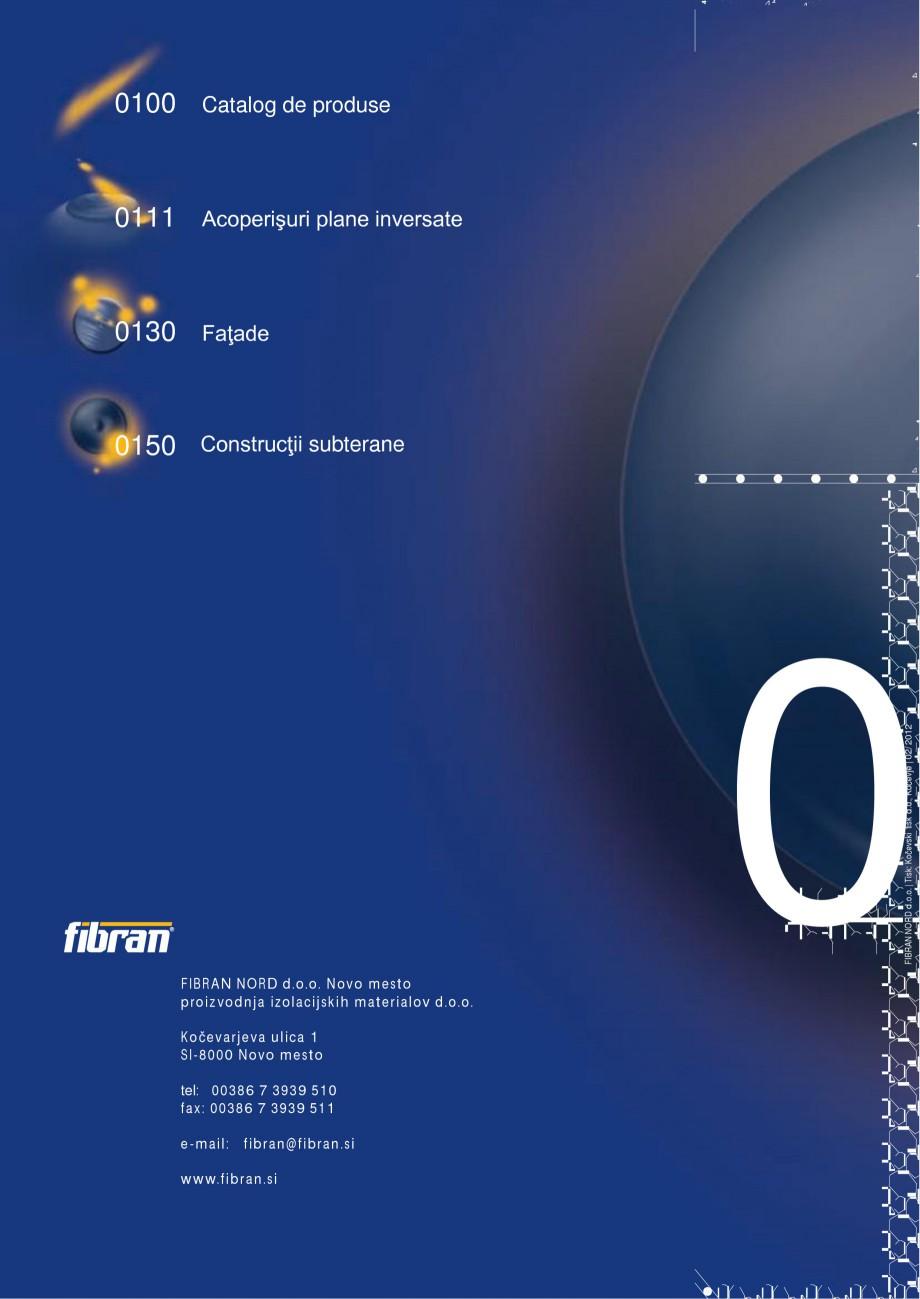 Pagina 2 - Izolarea termica a constructiilor subterane FIBRANxps 300-L, 400-L, 500-L, 600-L, 700-L, ...
