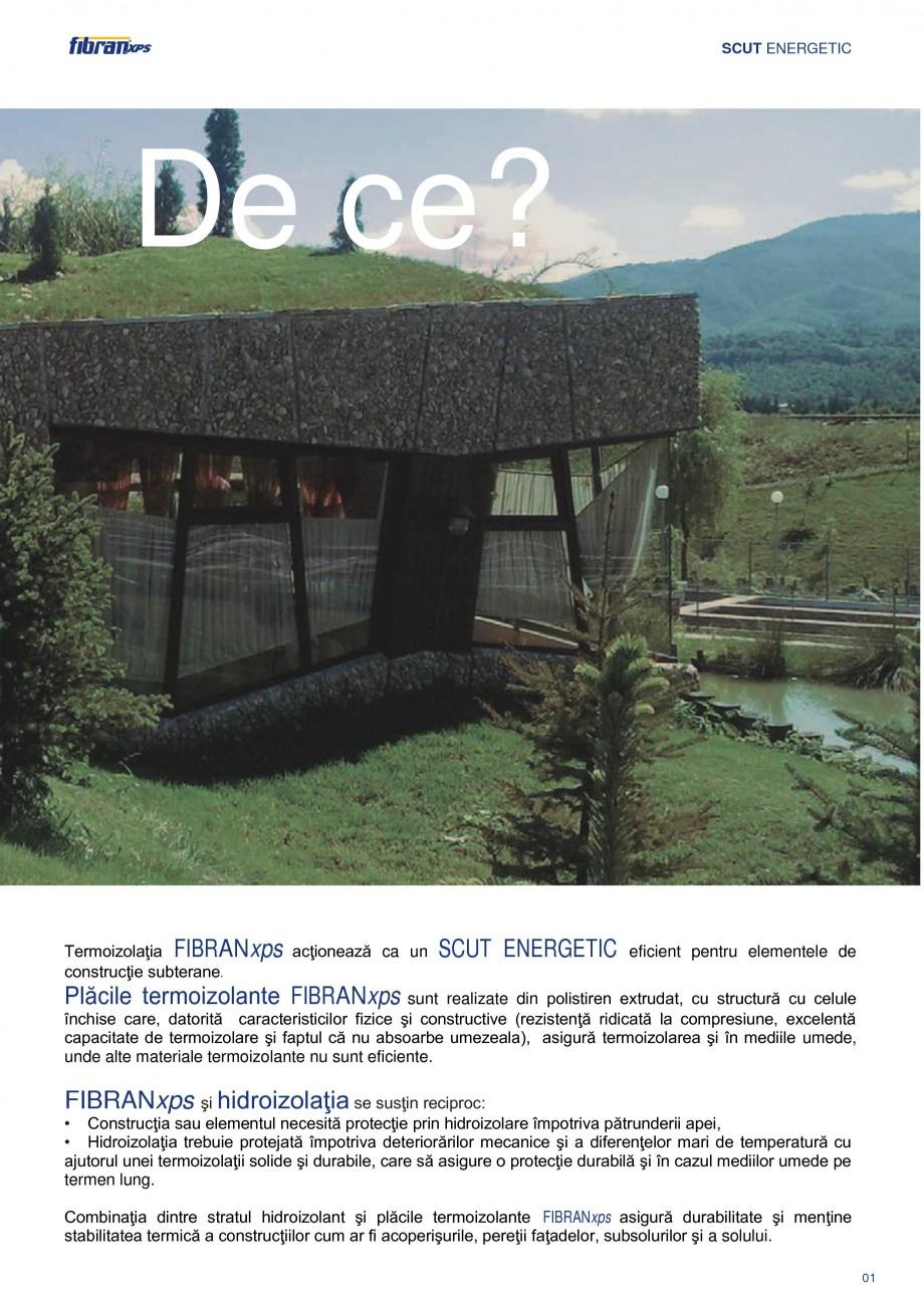 Pagina 4 - Izolarea termica a constructiilor subterane FIBRANxps 300-L, 400-L, 500-L, 600-L, 700-L, ...
