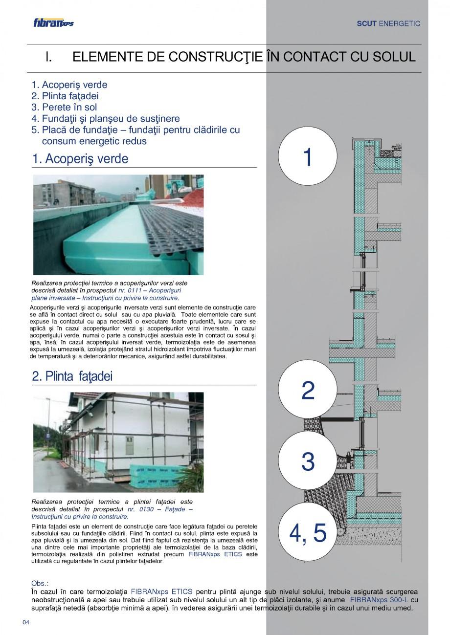 Pagina 7 - Izolarea termica a constructiilor subterane FIBRANxps 300-L, 400-L, 500-L, 600-L, 700-L, ...