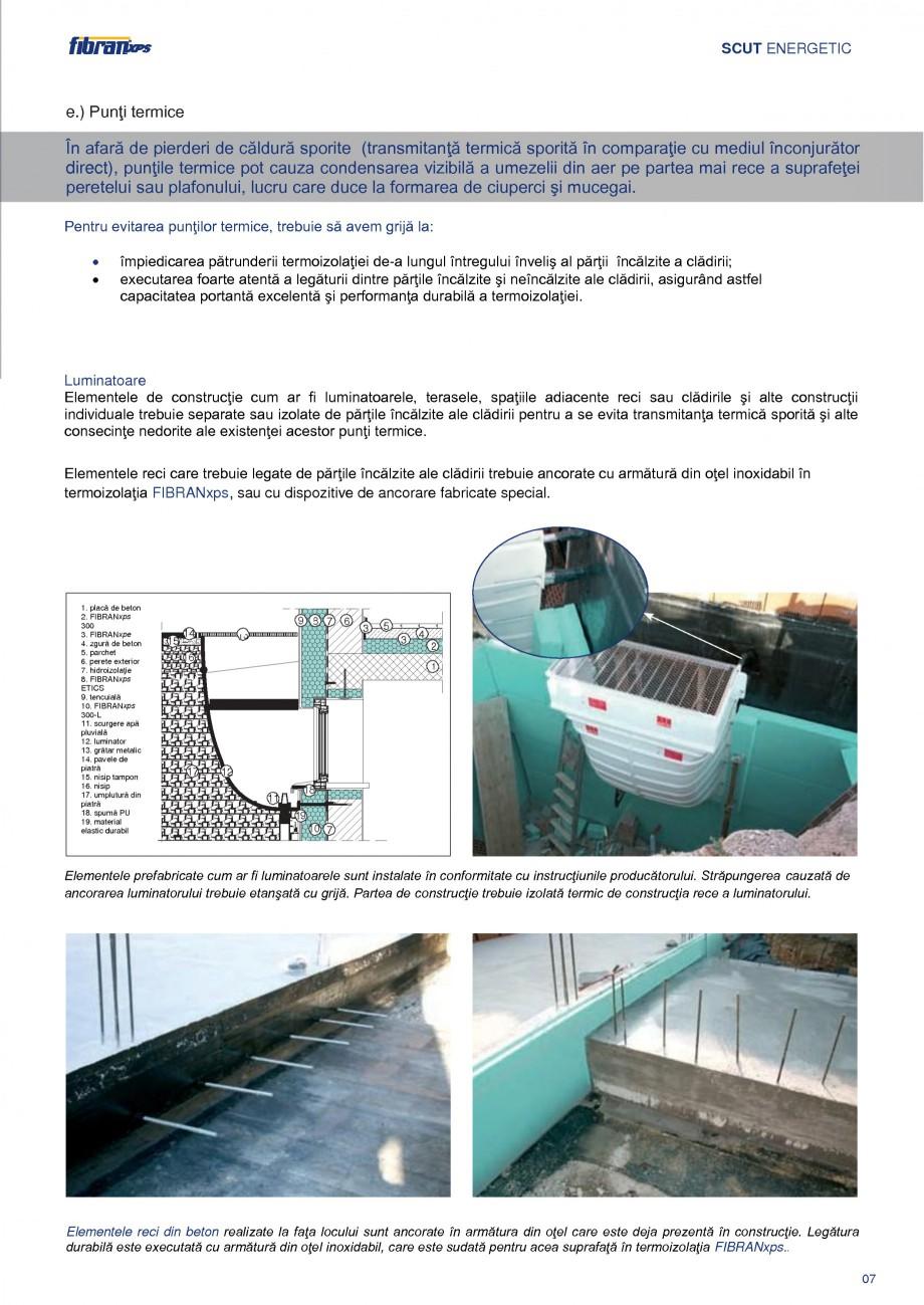 Pagina 10 - Izolarea termica a constructiilor subterane FIBRANxps 300-L, 400-L, 500-L, 600-L, 700-L,...