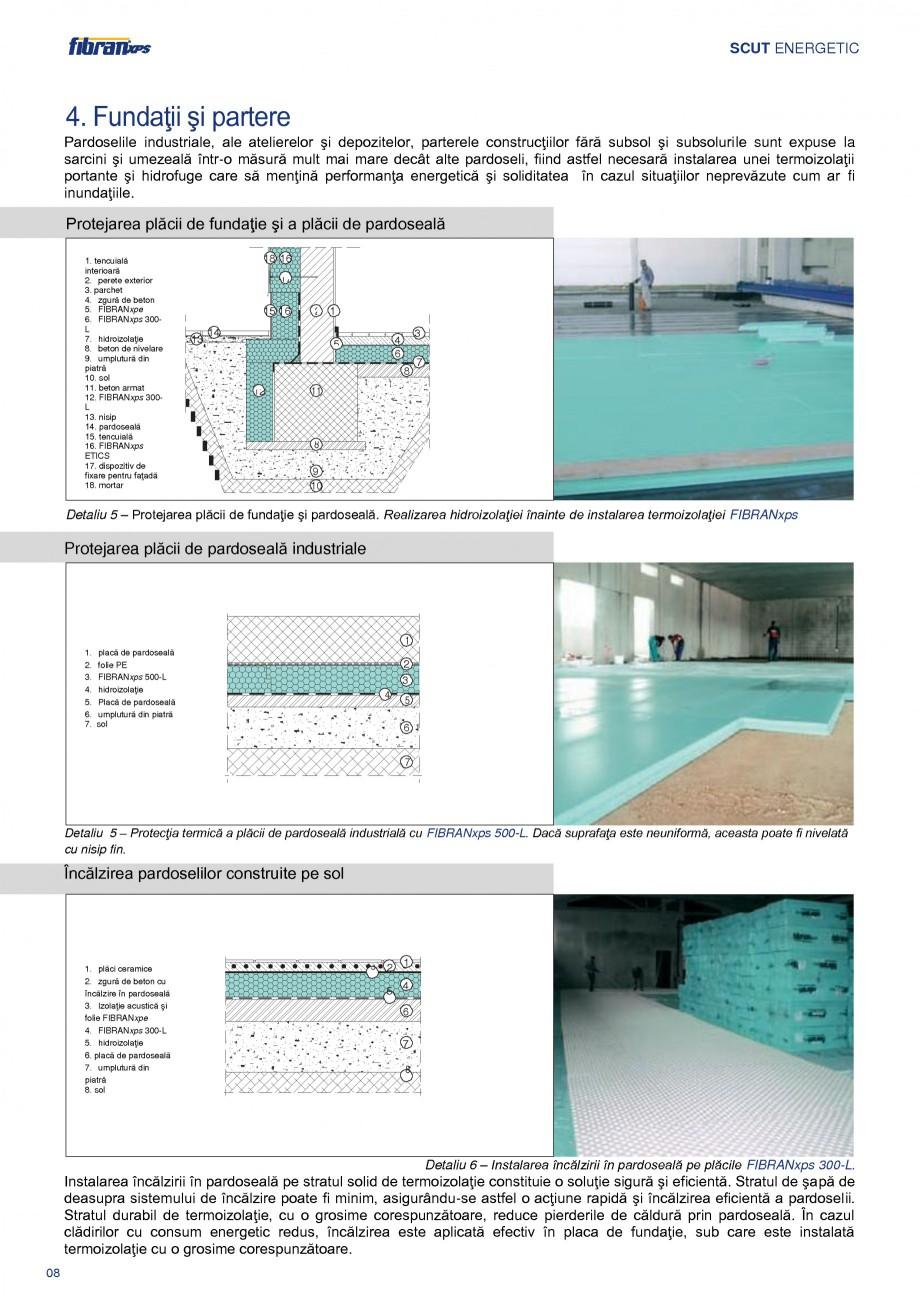 Pagina 11 - Izolarea termica a constructiilor subterane FIBRANxps 300-L, 400-L, 500-L, 600-L, 700-L,...
