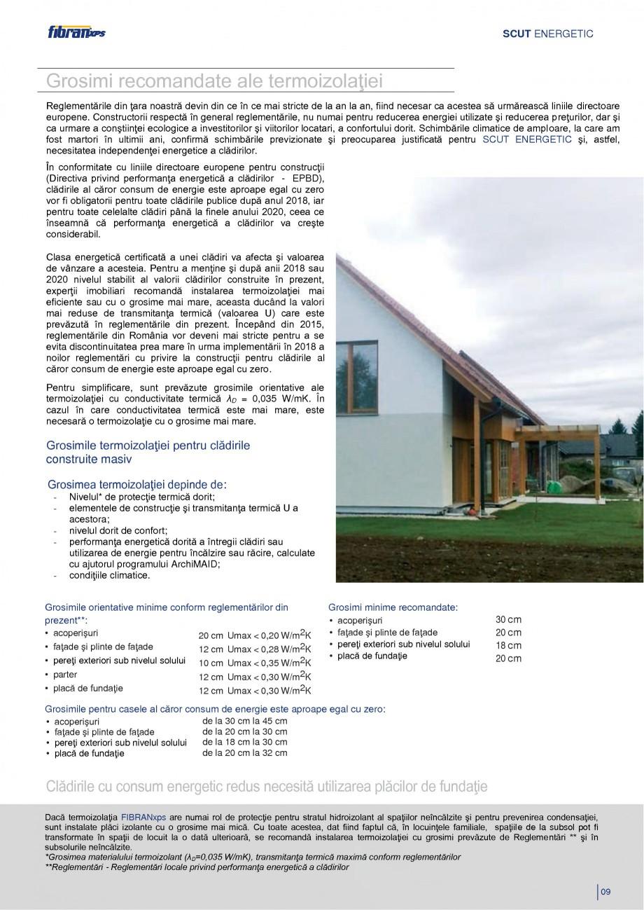 Pagina 12 - Izolarea termica a constructiilor subterane FIBRANxps 300-L, 400-L, 500-L, 600-L, 700-L,...