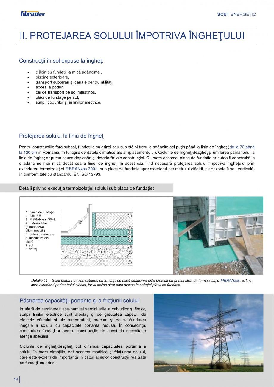 Pagina 17 - Izolarea termica a constructiilor subterane FIBRANxps 300-L, 400-L, 500-L, 600-L, 700-L,...