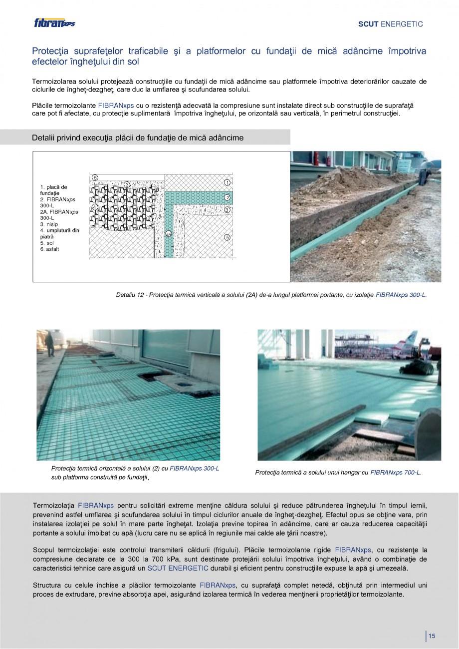 Pagina 18 - Izolarea termica a constructiilor subterane FIBRANxps 300-L, 400-L, 500-L, 600-L, 700-L,...