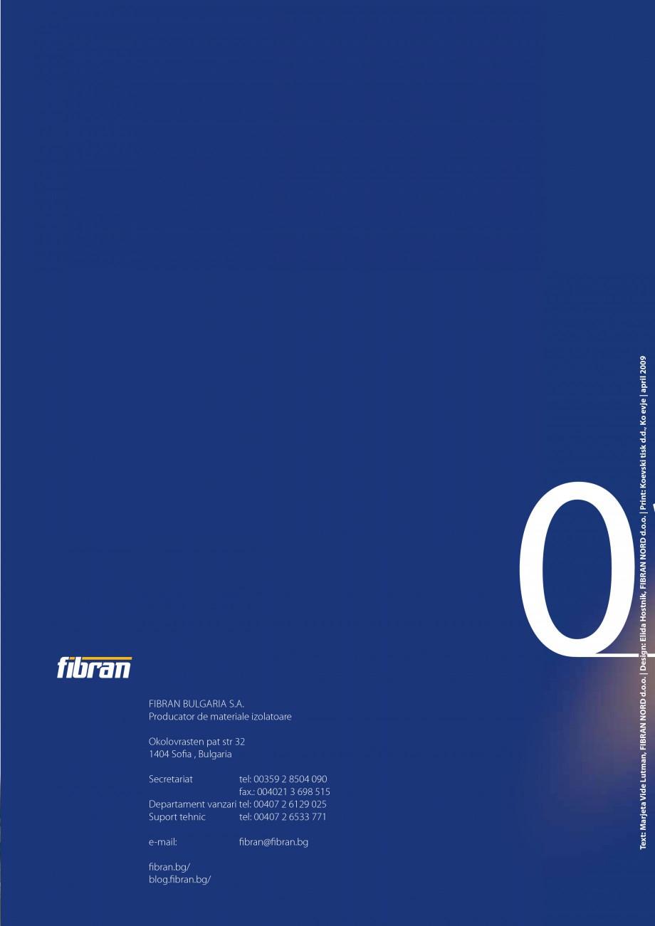 Pagina 14 - Izolatii cu polistiren extrudat FIBRANxps FIBRANxps 300-L, 400-L, 500-L, 600-L, 700-L,...