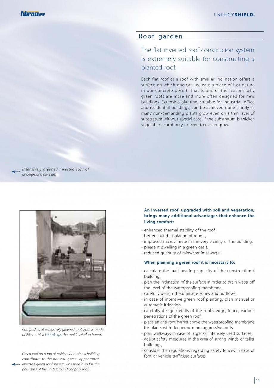 Pagina 13 - Izolarea termica a acoperisurilor plane inversate FIBRANxps 300-L, 400-L, 500-L, 600-L, ...