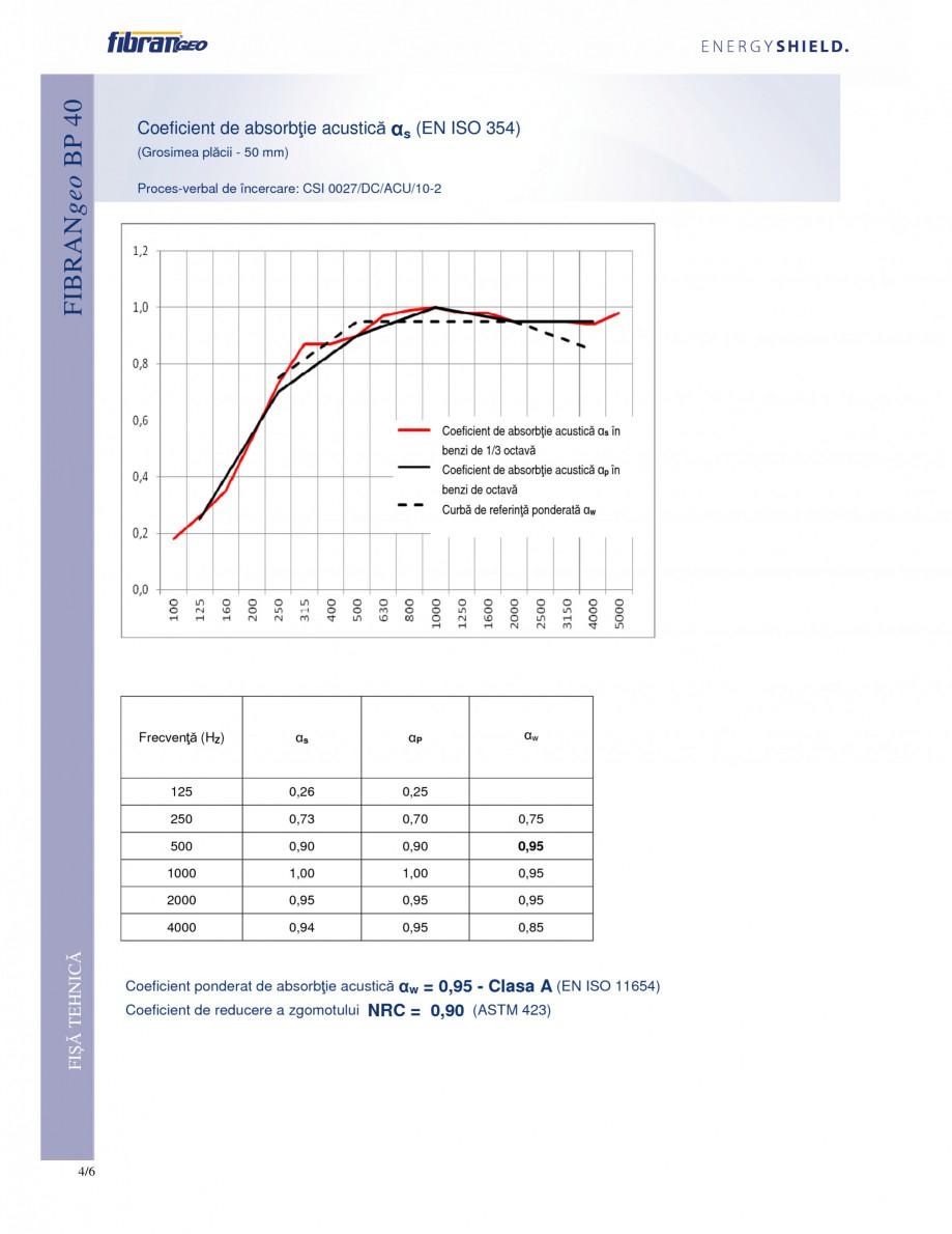 Pagina 4 - Placi izolante rigide FIBRANgeo ΒP 40 Fisa tehnica Romana  masiv/finisaj pardoseală...