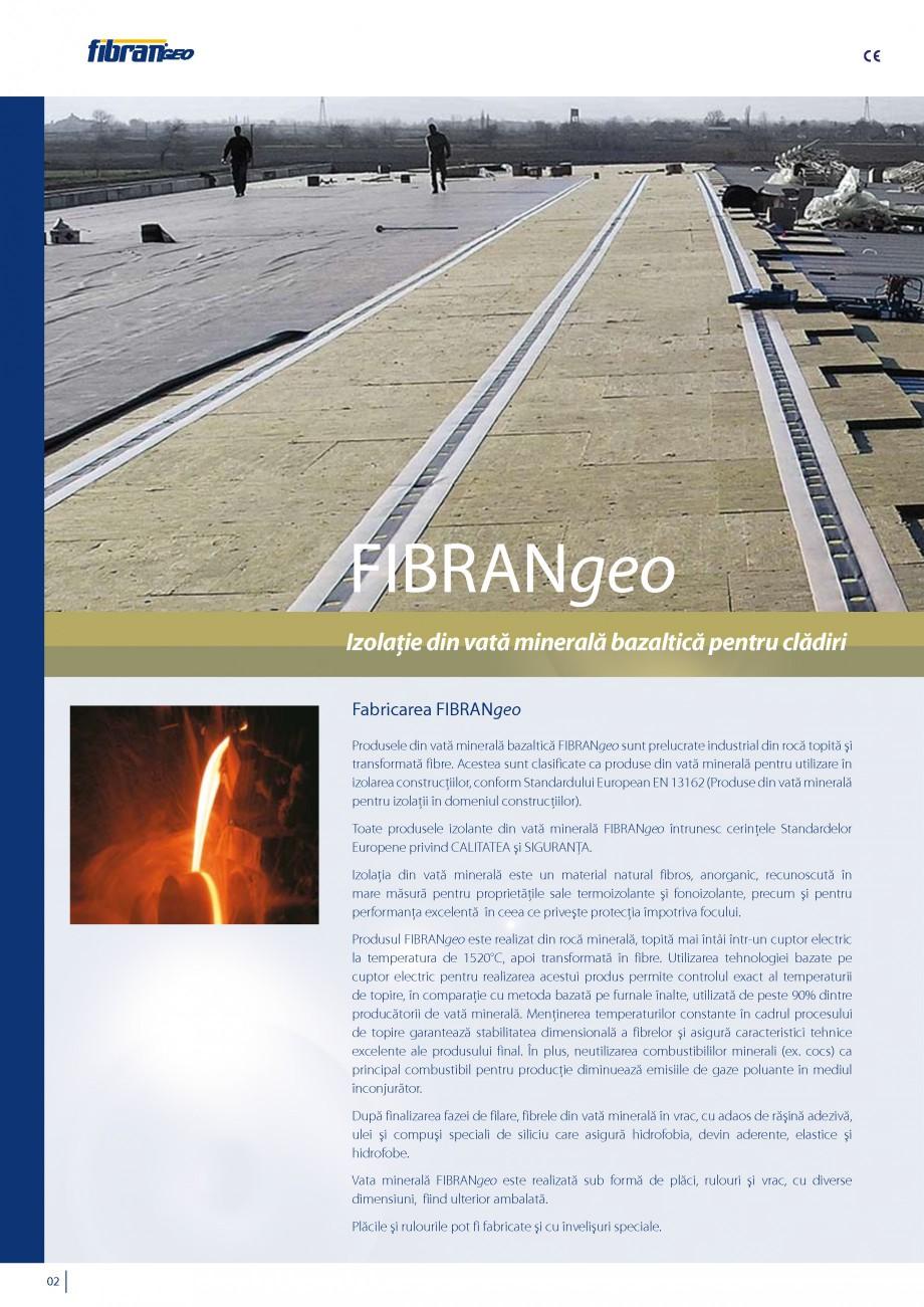 Pagina 3 - Vata minerala bazaltica pentru izolatia termica, fonica si protectia impotriva focului...