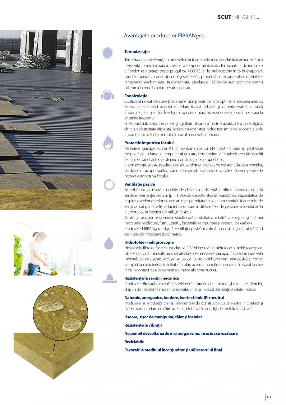 Pagina 4 - Vata minerala bazaltica pentru izolatia termica, fonica si protectia impotriva focului...