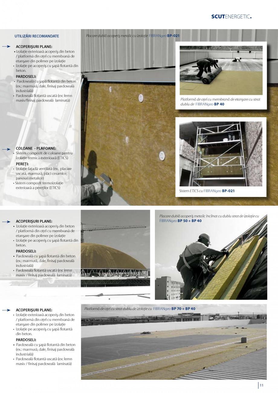 Pagina 12 - Vata minerala bazaltica pentru izolatia termica, fonica si protectia impotriva focului...