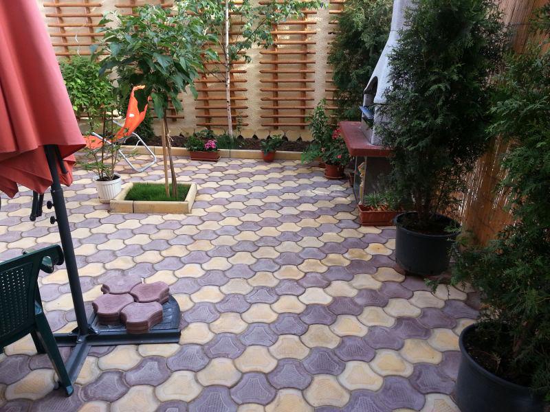 Pavele din beton - Combinatie de galben cu maro CONSTRUCTII MILLENIUM - Poza 2