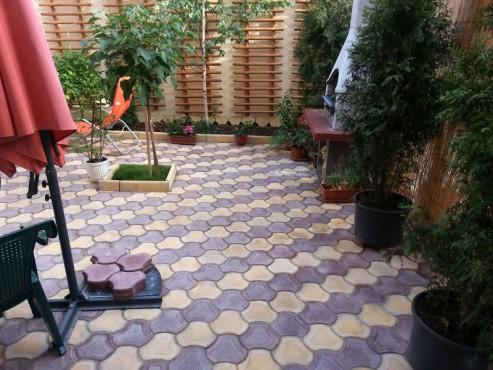 Exemple de utilizare Pavele din beton - Combinatie de galben cu maro CONSTRUCTII MILLENIUM - Poza 2