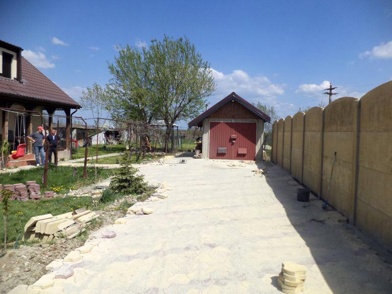Pavele din beton - Combinatie de galben cu maro CONSTRUCTII MILLENIUM - Poza 6
