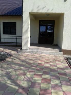 Dale din beton - Combinatie de rosu deschis cu alb CONSTRUCTII MILLENIUM - Poza 1