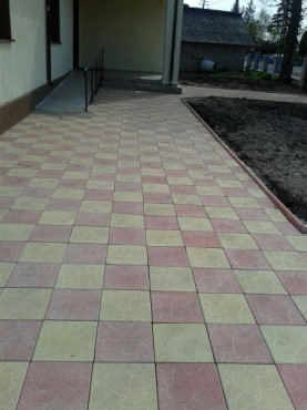 Dale din beton - Combinatie de rosu deschis cu alb CONSTRUCTII MILLENIUM - Poza 5