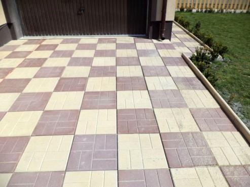 Exemple de utilizare Dale din beton - Combinatie de maro cu crem CONSTRUCTII MILLENIUM - Poza 5