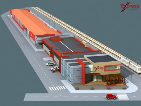 Dirigentie de santier - Centrul Comercial - EXPRES BAZAR 1 Consultanta Constructii Iordan - Poza 1