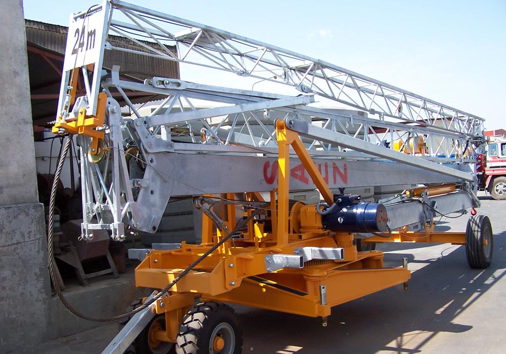 Macarale automontante hidraulic SAEZ - Poza 2
