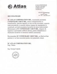 Recomandare Atlas Corporation